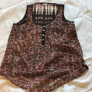 Charming Charlie tank top size M